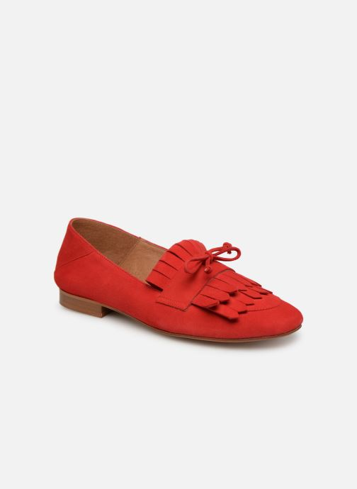Urbafrican Cuir Velours Rouge By Mocassins2 Made Sarenza 4Aj5RLqc3