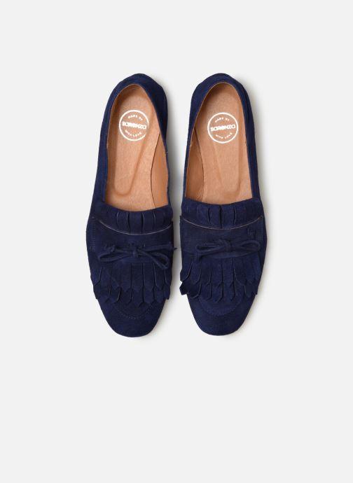 Mocassins Made by SARENZA UrbAfrican Mocassins #2 Bleu vue portées chaussures
