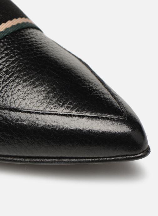 Slipper Made by SARENZA Sport Party Mocassins #2 schwarz ansicht von links