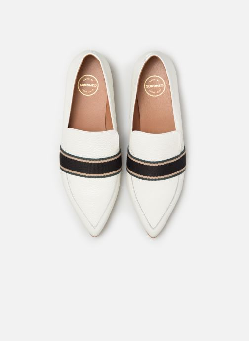 Loafers Made by SARENZA Sport Party Mocassins #2 White model view