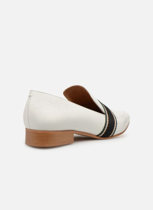 Loafers Made by SARENZA Sport Party Mocassins #2 White front view