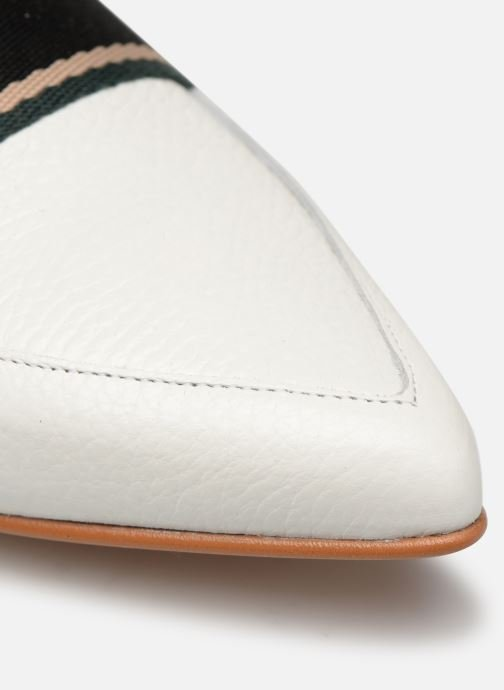 Loafers Made by SARENZA Sport Party Mocassins #2 White view from the left