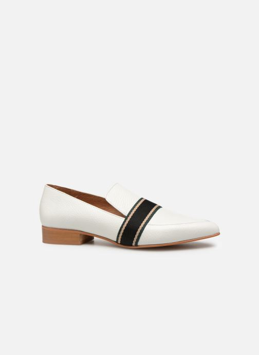 Loafers Made by SARENZA Sport Party Mocassins #2 White detailed view/ Pair view