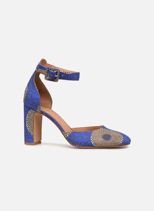 Zapatos de tacón Made by SARENZA UrbAfrican Escarpins #4 Azul vista de detalle / par