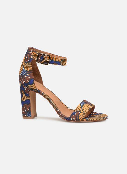 Sandales et nu-pieds Made by SARENZA UrbAfrican Sandales à Talons #10 Jaune vue détail/paire