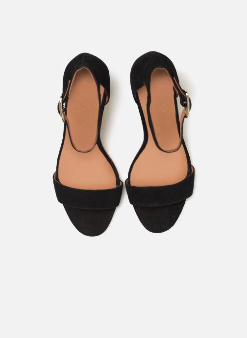 Sandales et nu-pieds Made by SARENZA Africa Vibes Sandales à Talons #2 Noir vue portées chaussures