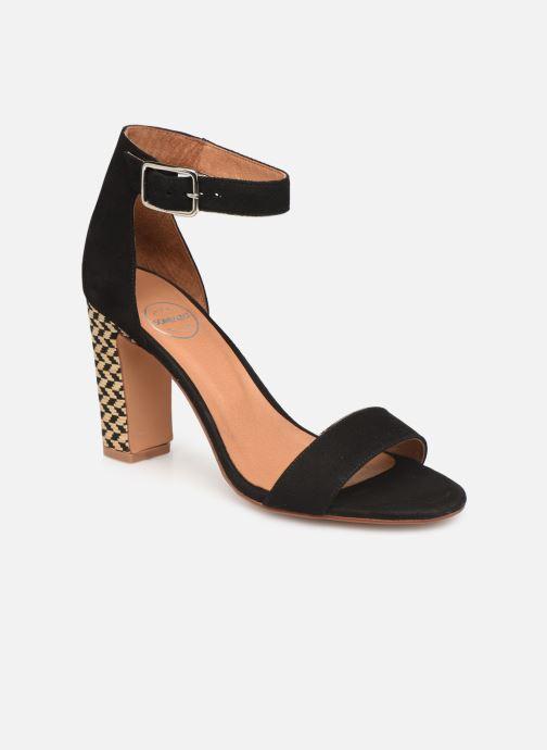Sandales et nu-pieds Made by SARENZA Africa Vibes Sandales à Talons #2 Noir vue droite