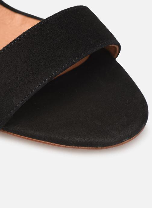 Sandales et nu-pieds Made by SARENZA Africa Vibes Sandales à Talons #2 Noir vue gauche