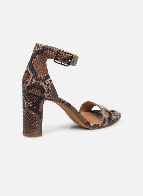 Sandales et nu-pieds Made by SARENZA Africa Vibes Sandales à Talons #2 Marron vue face