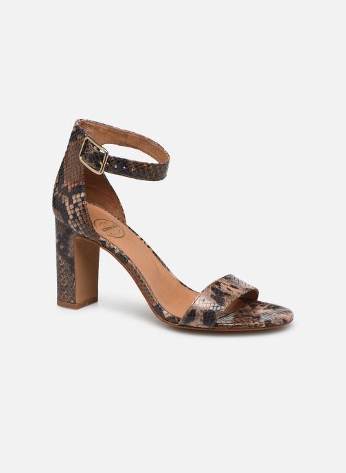 Sandales et nu-pieds Made by SARENZA Africa Vibes Sandales à Talons #2 Marron vue droite