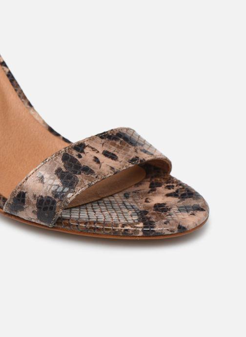 Sandales et nu-pieds Made by SARENZA Africa Vibes Sandales à Talons #2 Marron vue gauche