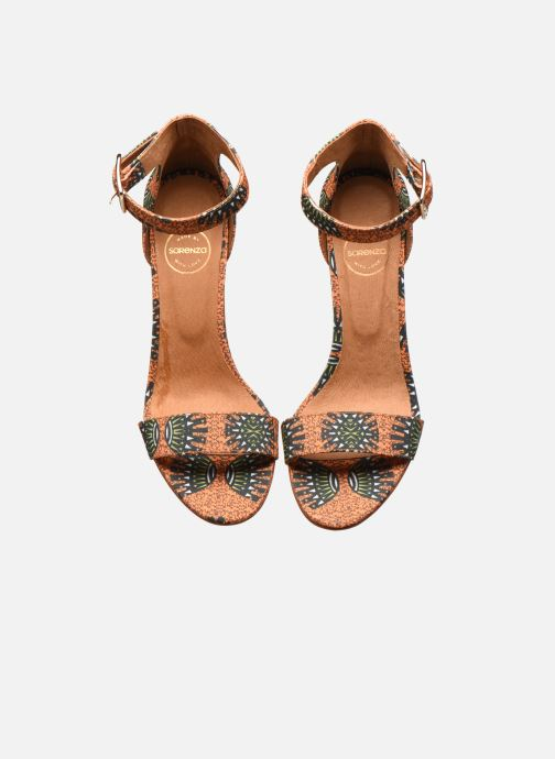 Sandales et nu-pieds Made by SARENZA Africa Vibes Sandales à Talons #2 Orange vue portées chaussures