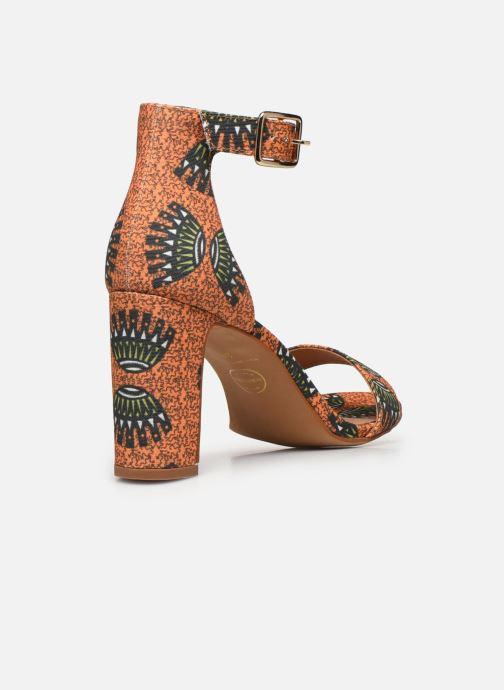 Sandali e scarpe aperte Made by SARENZA Africa Vibes Sandales à Talons #2 Arancione immagine frontale