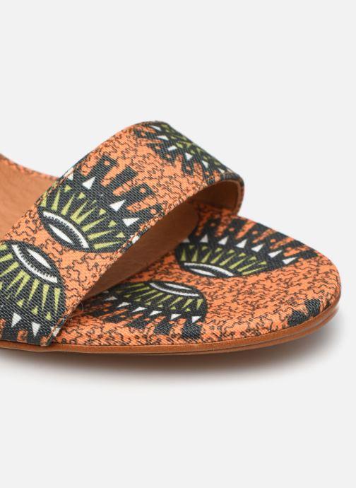 Sandales et nu-pieds Made by SARENZA Africa Vibes Sandales à Talons #2 Orange vue gauche