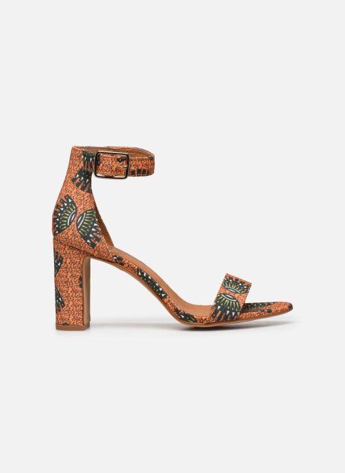 Sandales et nu-pieds Made by SARENZA Africa Vibes Sandales à Talons #2 Orange vue détail/paire