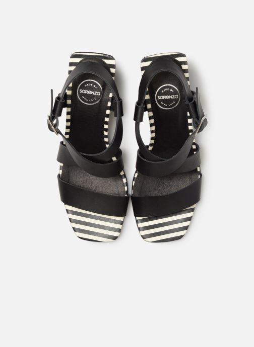 Sandali e scarpe aperte Made by SARENZA Pastel Affair Sandales à Talons #1 Nero modello indossato