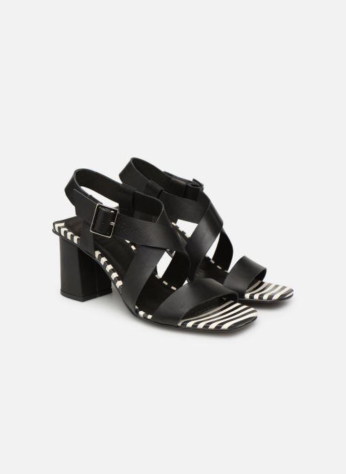 Sandales et nu-pieds Made by SARENZA Pastel Affair Sandales à Talons #1 Noir vue derrière