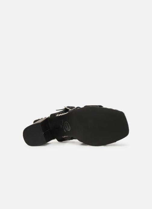 Sandales et nu-pieds Made by SARENZA Pastel Affair Sandales à Talons #1 Noir vue haut