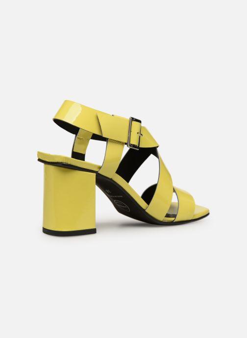 Sandales et nu-pieds Made by SARENZA Pastel Affair Sandales à Talons #1 Jaune vue face