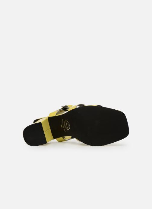 Sandales et nu-pieds Made by SARENZA Pastel Affair Sandales à Talons #1 Jaune vue haut