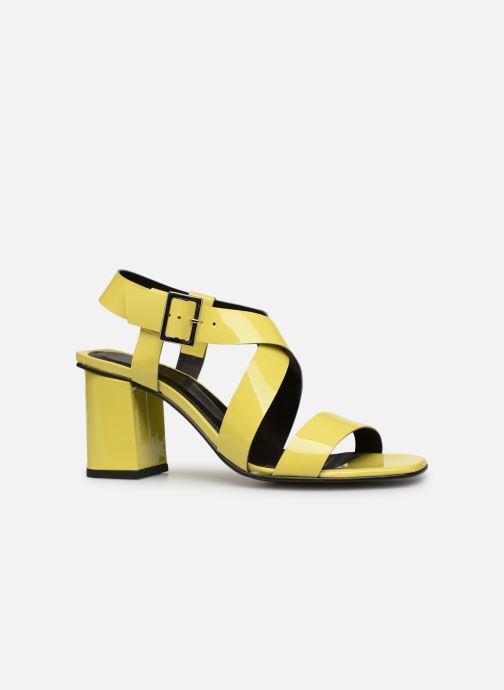 Sandales et nu-pieds Made by SARENZA Pastel Affair Sandales à Talons #1 Jaune vue détail/paire