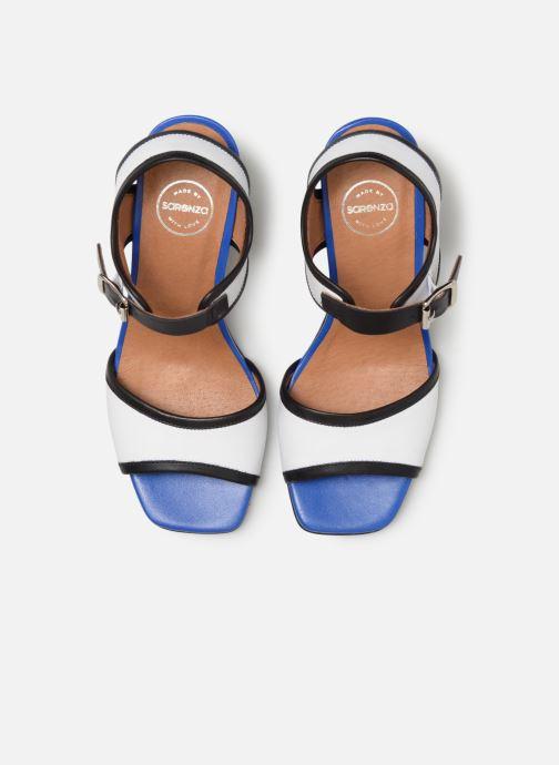 Sandali e scarpe aperte Made by SARENZA Sport Party Sandales à Talons #5 Bianco modello indossato