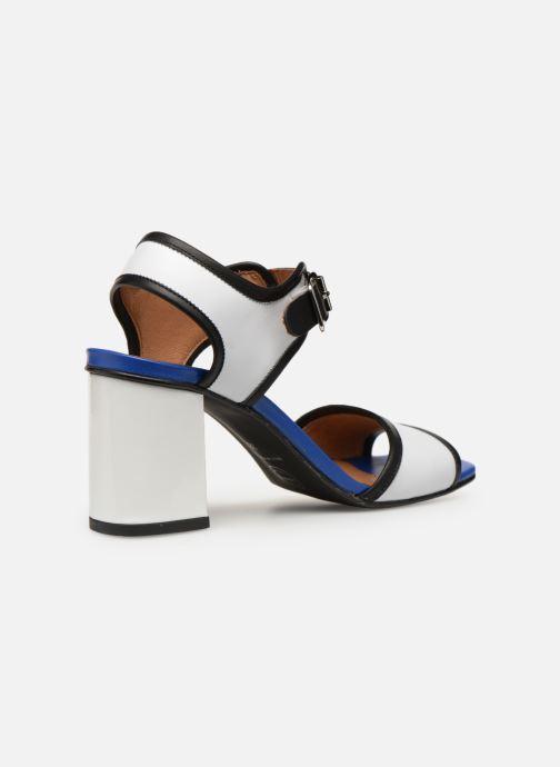 Sandales et nu-pieds Made by SARENZA Sport Party Sandales à Talons #5 Blanc vue face