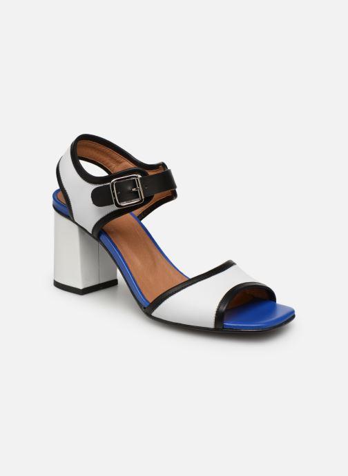 Sandales et nu-pieds Made by SARENZA Sport Party Sandales à Talons #5 Blanc vue droite