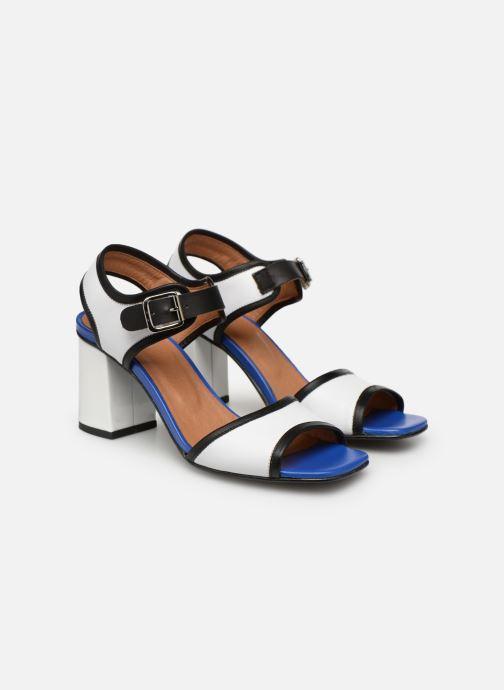 Sandales et nu-pieds Made by SARENZA Sport Party Sandales à Talons #5 Blanc vue derrière