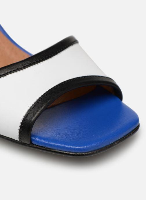 Sandales et nu-pieds Made by SARENZA Sport Party Sandales à Talons #5 Blanc vue gauche
