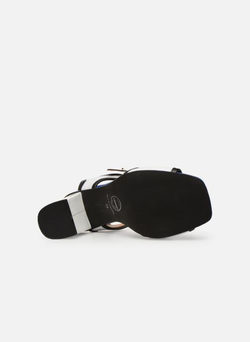 Sandales et nu-pieds Made by SARENZA Sport Party Sandales à Talons #5 Blanc vue haut