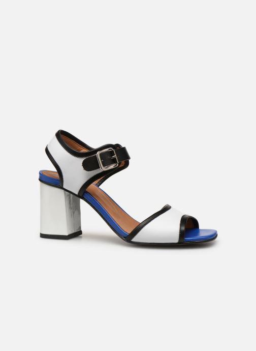 Sandales et nu-pieds Made by SARENZA Sport Party Sandales à Talons #5 Blanc vue détail/paire