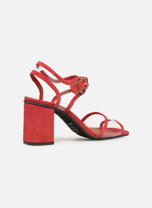 Sandales et nu-pieds Made by SARENZA Sport Party Sandales à Talons #5 Rouge vue face