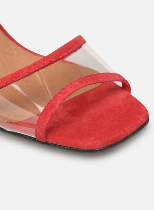 Sandales et nu-pieds Made by SARENZA Sport Party Sandales à Talons #5 Rouge vue gauche