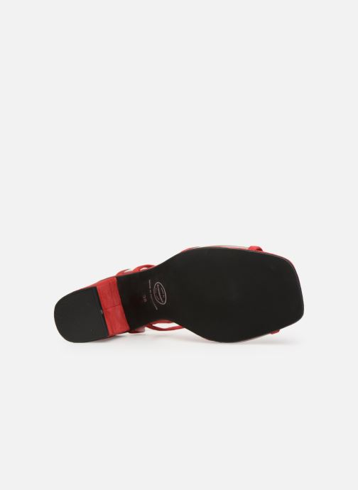 Sandales et nu-pieds Made by SARENZA Sport Party Sandales à Talons #5 Rouge vue haut