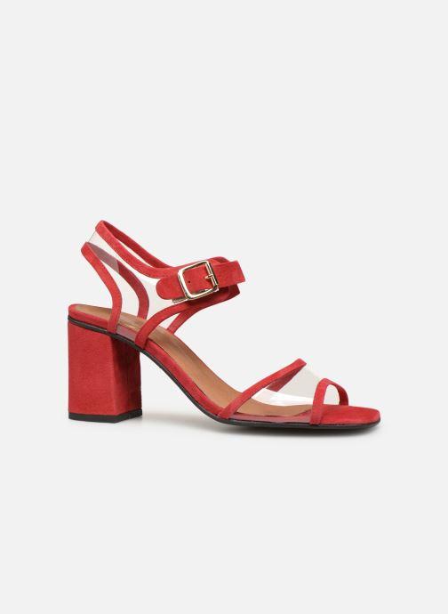 Sandales et nu-pieds Made by SARENZA Sport Party Sandales à Talons #5 Rouge vue détail/paire