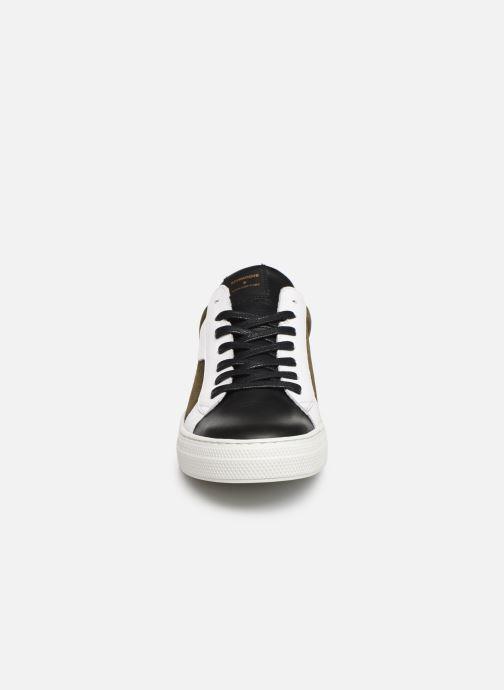 Baskets Schmoove Spark Clay Suede/Nappa Vert vue portées chaussures