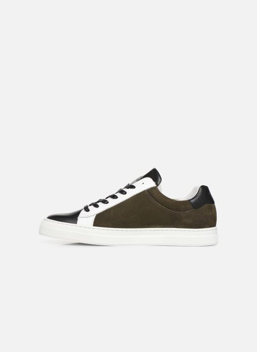 Trainers Schmoove Spark Clay Suede/Nappa Green front view