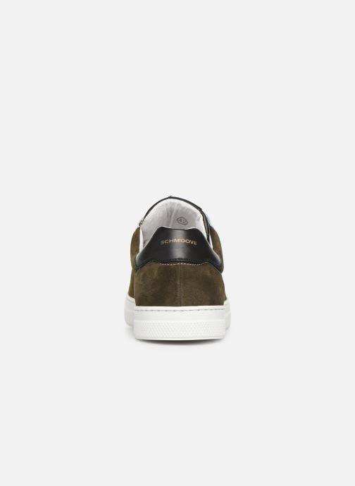 Baskets Schmoove Spark Clay Suede/Nappa Vert vue droite