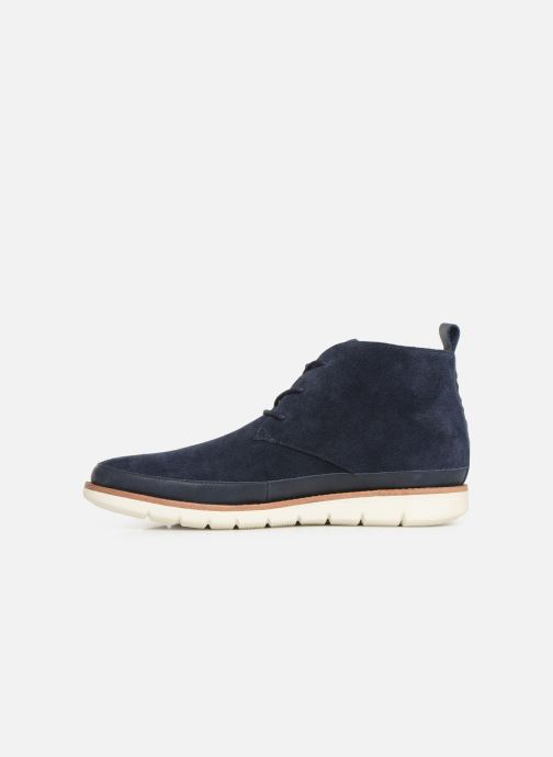 Bottines et boots Schmoove Echo Desert Bleu vue face