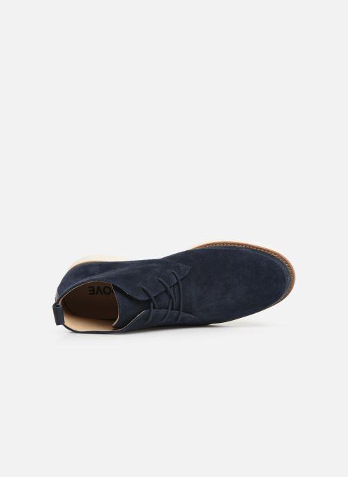 Bottines et boots Schmoove Echo Desert Bleu vue gauche