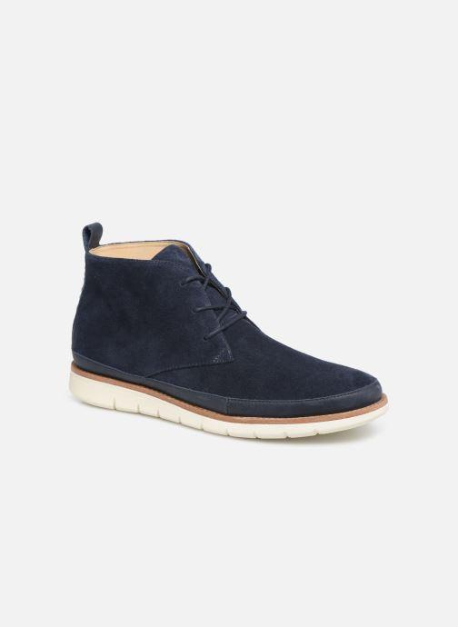 Bottines et boots Schmoove Echo Desert Bleu vue détail/paire