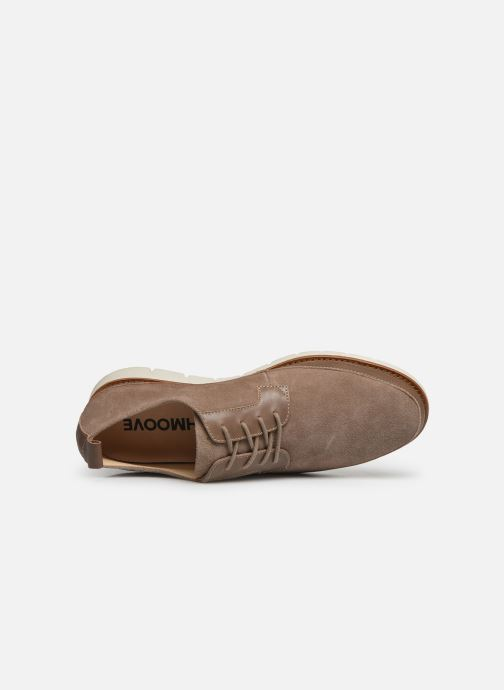 Lace-up shoes Schmoove Echo Copper Beige view from the left