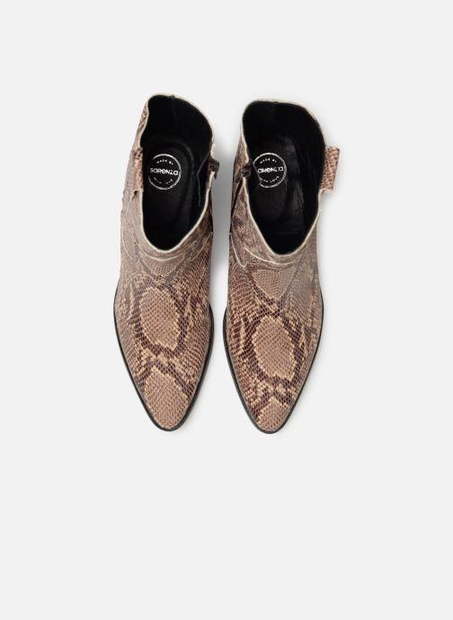 Boots en enkellaarsjes Made by SARENZA UrbAfrican Boots #3 Bruin model