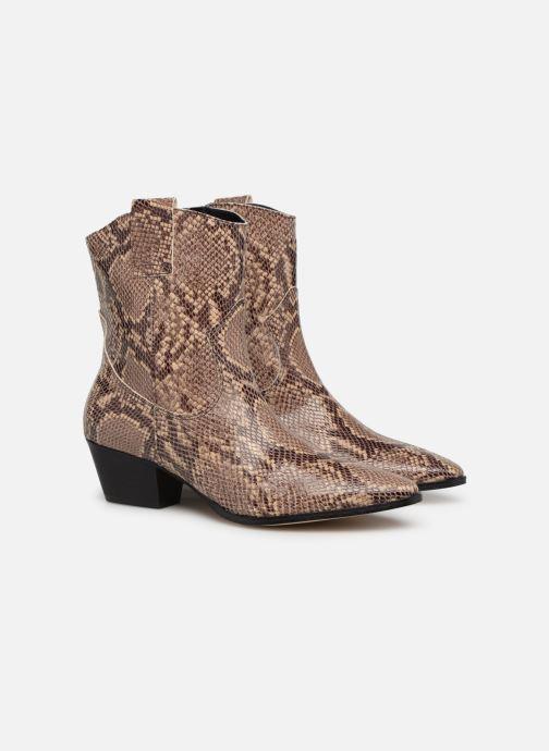 Ankelstøvler Made by SARENZA UrbAfrican Boots #3 Brun se bagfra