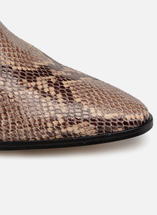 Ankelstøvler Made by SARENZA UrbAfrican Boots #3 Brun se fra venstre