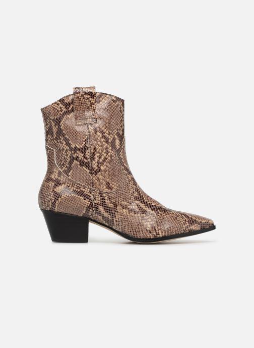 Ankelstøvler Made by SARENZA UrbAfrican Boots #3 Brun detaljeret billede af skoene