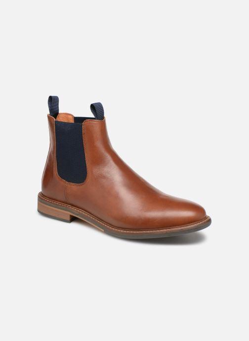 Bottines et boots Schmoove Pilot Chelsea Marron vue détail/paire