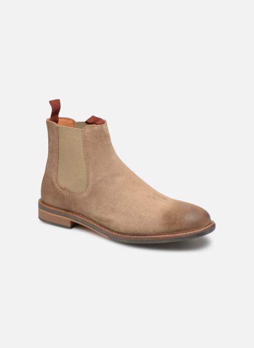 Bottines et boots Schmoove Pilot Chelsea Beige vue détail/paire