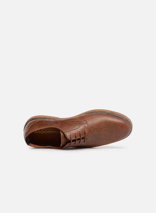 Chaussures à lacets Schmoove Solal Derby Marron vue gauche